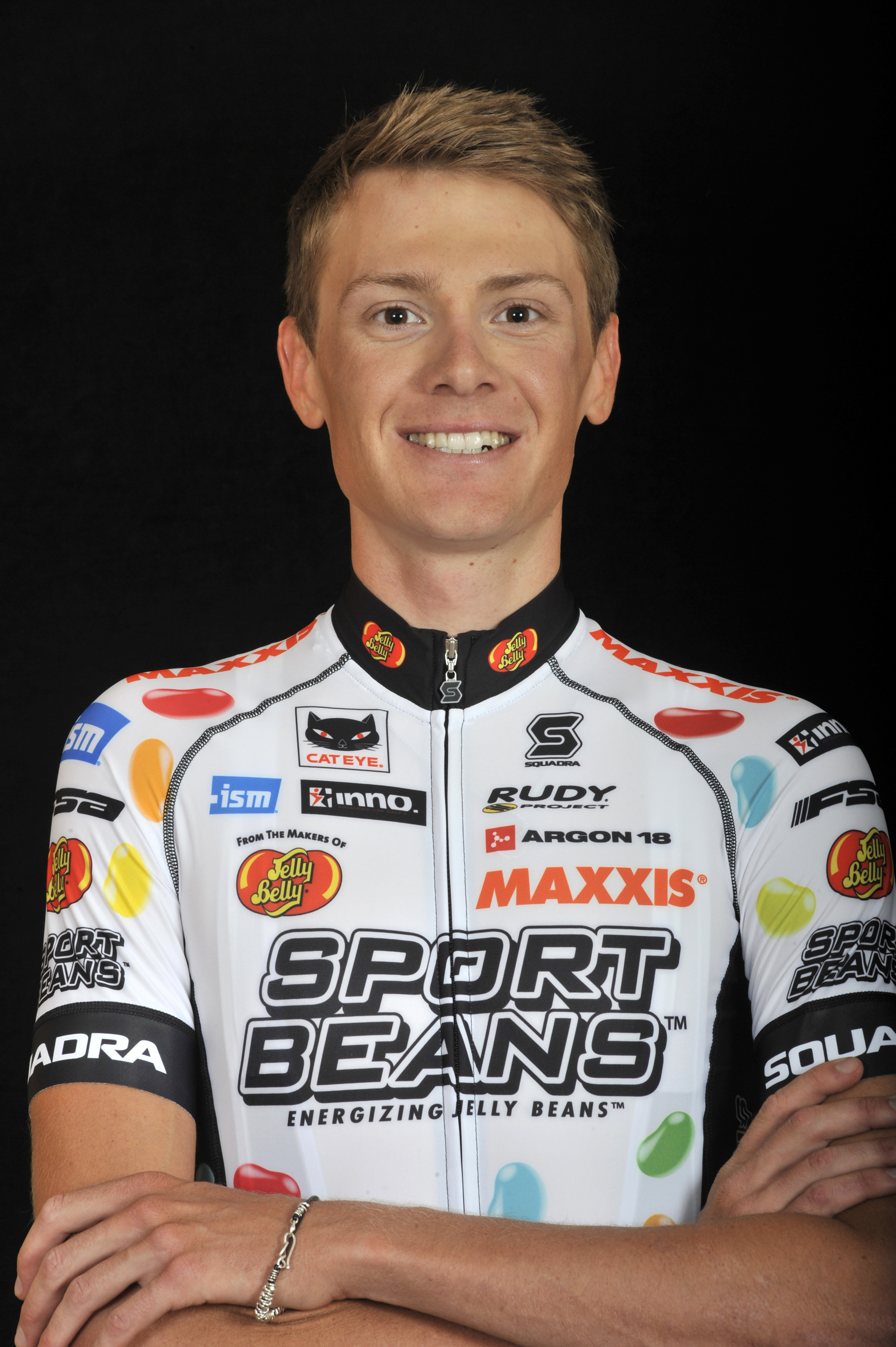 4a35f2d85 Joshua Berry - Jelly Belly Professional Cycling Team P B Maxxis