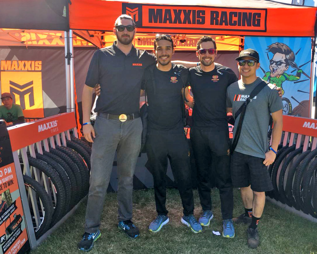 MAXXIS tires at Sea Otter Classic 2018