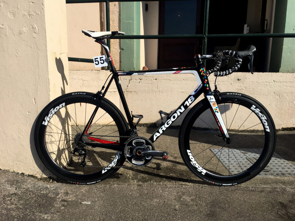 Argon 18 pro cycling FSA Ben Wolfe