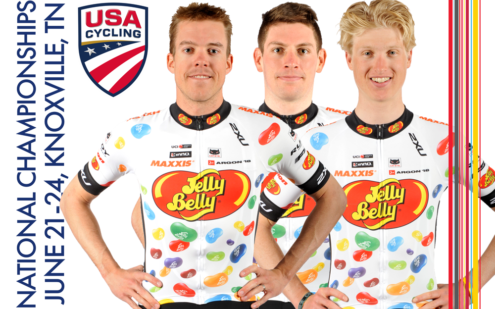 Time Trial Nationals Squad, Taylor Shelden, Ben Wolfe, and Keegan Swirbul