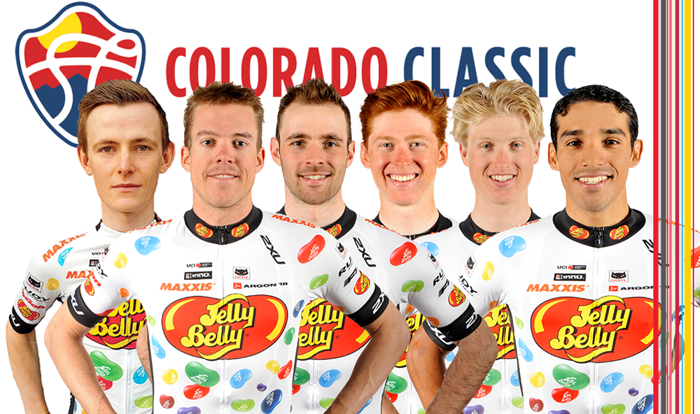 Colorado Classic Pro Cycling race and Jelly Belly Cycling MAXXIS