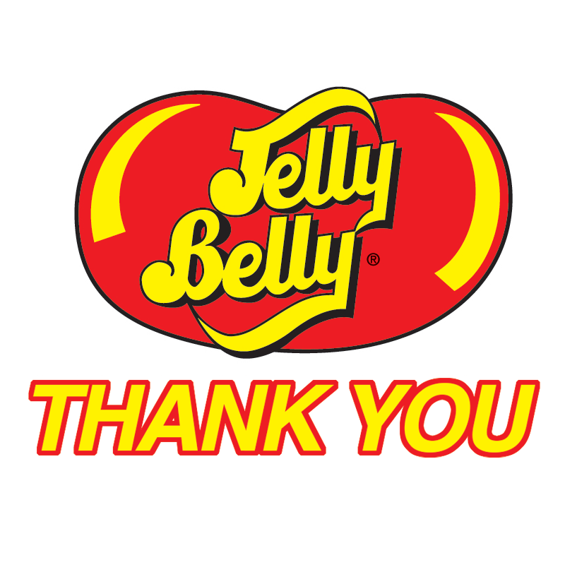 Thank you for 19 years of title sponsorship, Jelly Belly Candy Co.